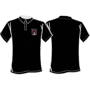 Ladies Spirit Of St George Polo - Black