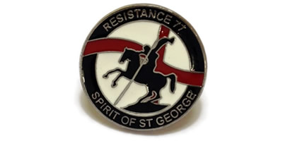 Spirit of St George Enamel Pin Badge