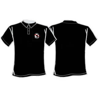 Mens Spirit of St George Polo - Black