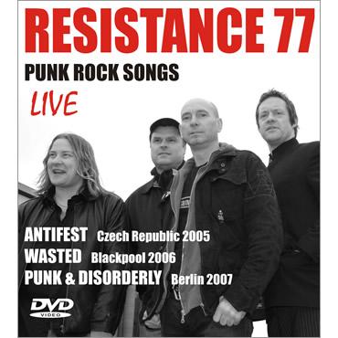 Resistance 77 | Punk Rock Songs DVD