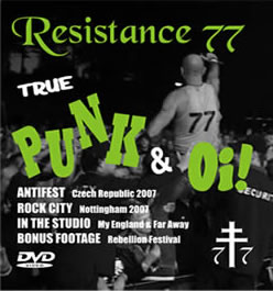 NEW DVD - True Punk & Oi!